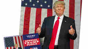 From Puzzles To Plastic Straws: Merch Plays A Key Role In Trump's Fundraising