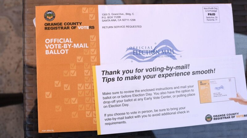 What A National Vote-By-Mail Election Might Look Like : 1A : NPR
