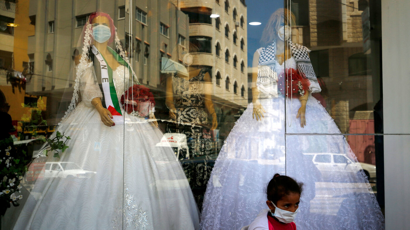 In Gaza, Coronavirus Sparks Wedding Fever