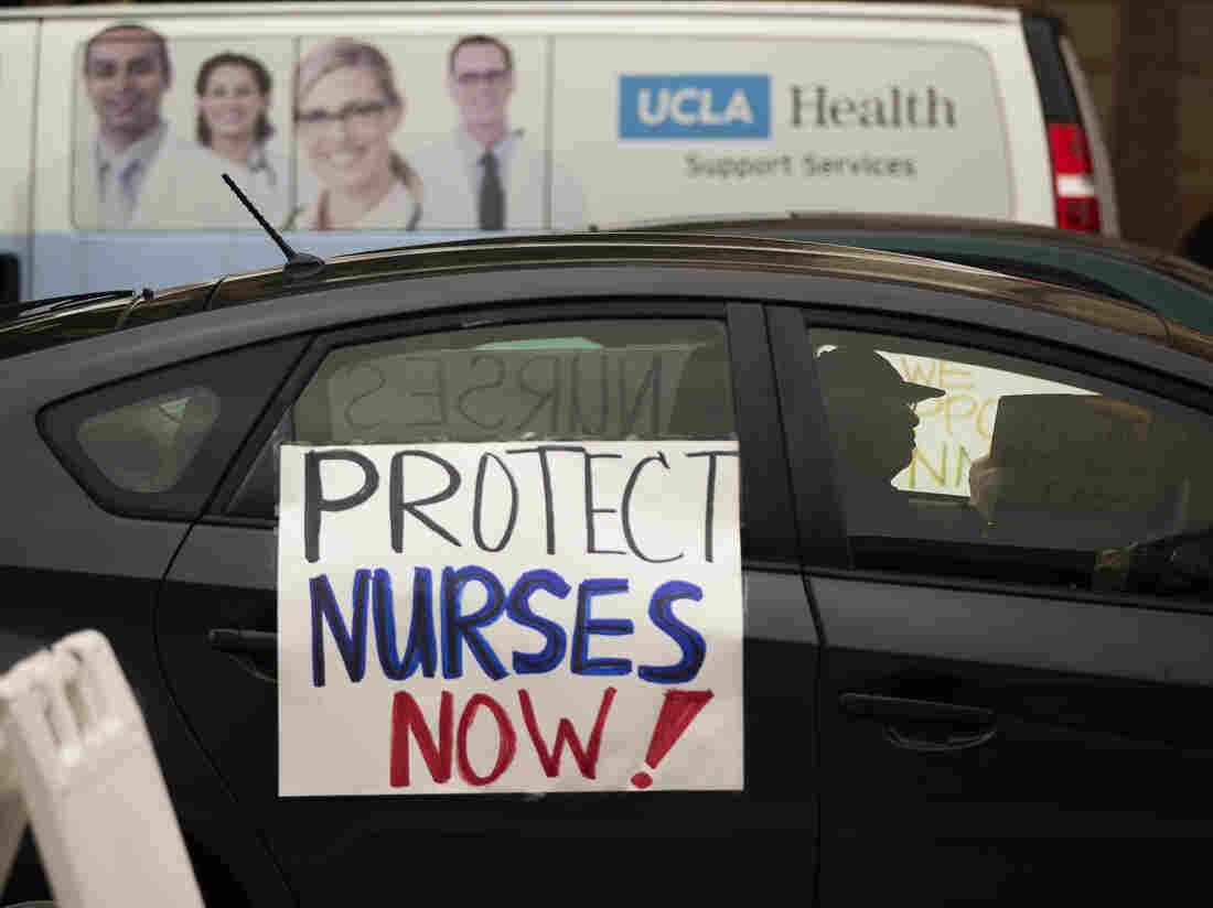 Nurses Left Vulnerable To COVID-19: 'We're Not Martyrs Sacrificing Our Lives' 1