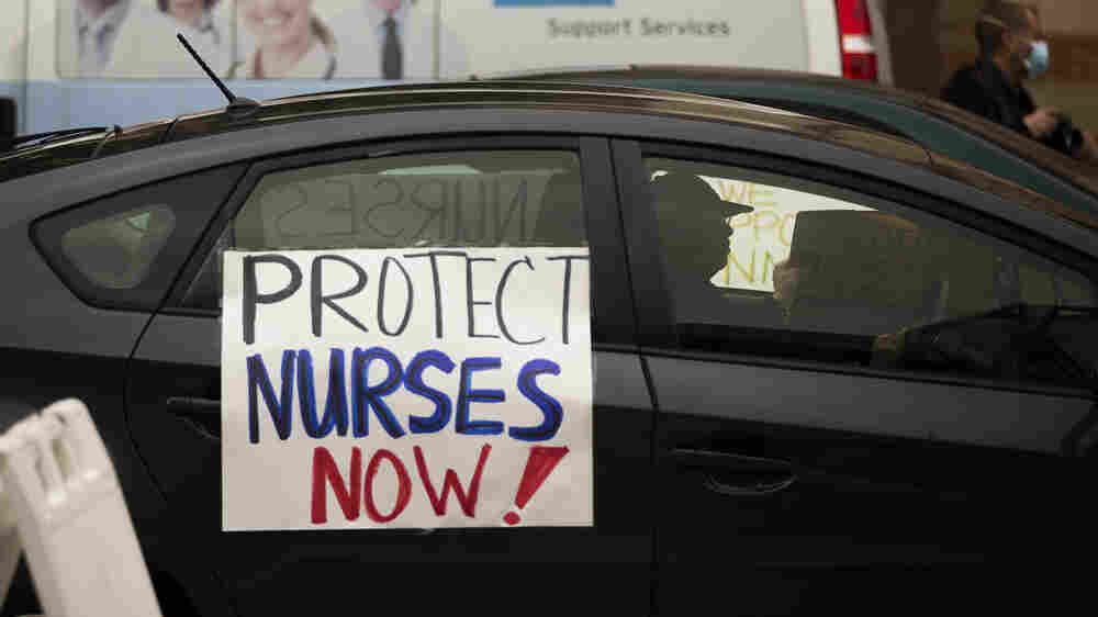 Nurses Left Vulnerable To COVID-19: 'We're Not Martyrs Sacrificing Our Lives'