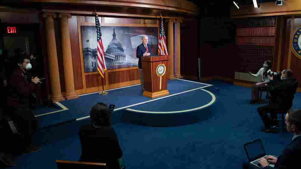 Despite Coronavirus Risks, The U.S. Senate Returns For Normal Business
