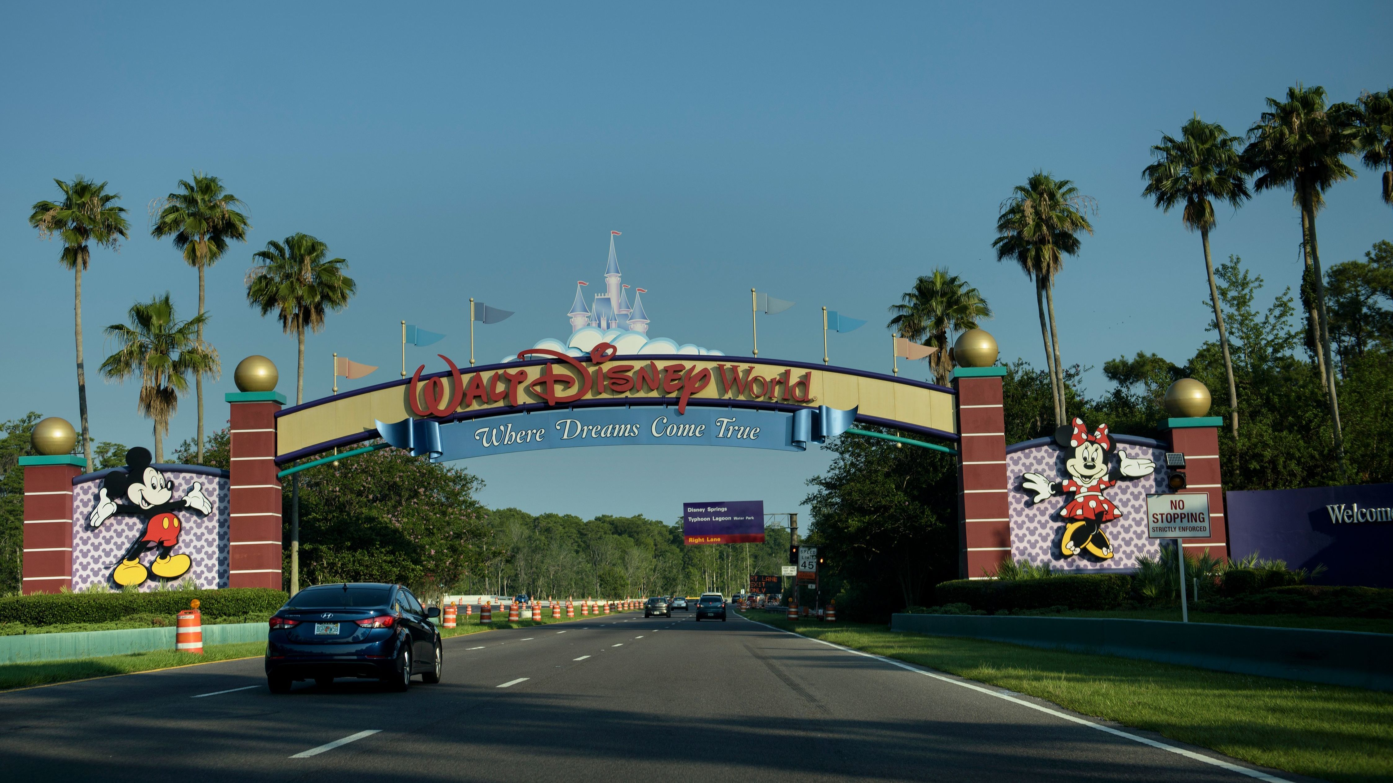 Man Arrested For Camping At Abandoned Disney World Island Npr