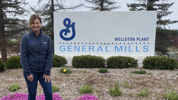 Carolyn Mendel, a General Mills plant manager in Wellston, Ohio, says she has compared notes on workplace safety with a rival frozen food maker nearby.