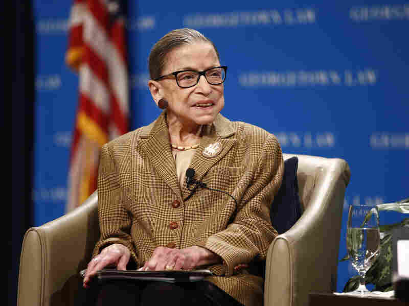 Ruth Bader Ginsburg in hospital with gall bladder infection
