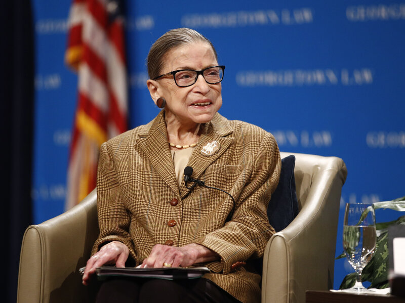 Supreme Court Justice Ruth Bader Ginsburg Discharged From Hospital Npr