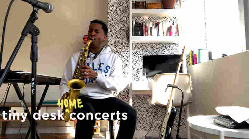 Braxton Cook Plays A Jazz-Infused Tiny Desk From Home