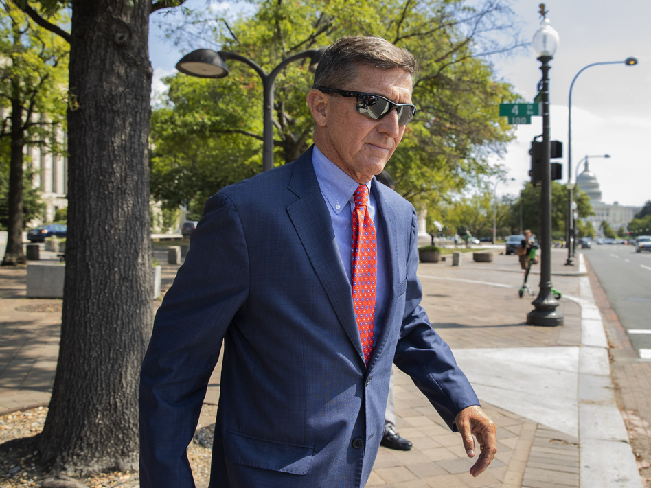 The Justice Department is dropping charges against Michael Flynn, President Trump's former national security adviser. (Manuel Balce Ceneta/AP)