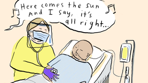 COMIC: Hospitals Turn To Alicia Keys, U2 And The Beatles To Sing Patients Home