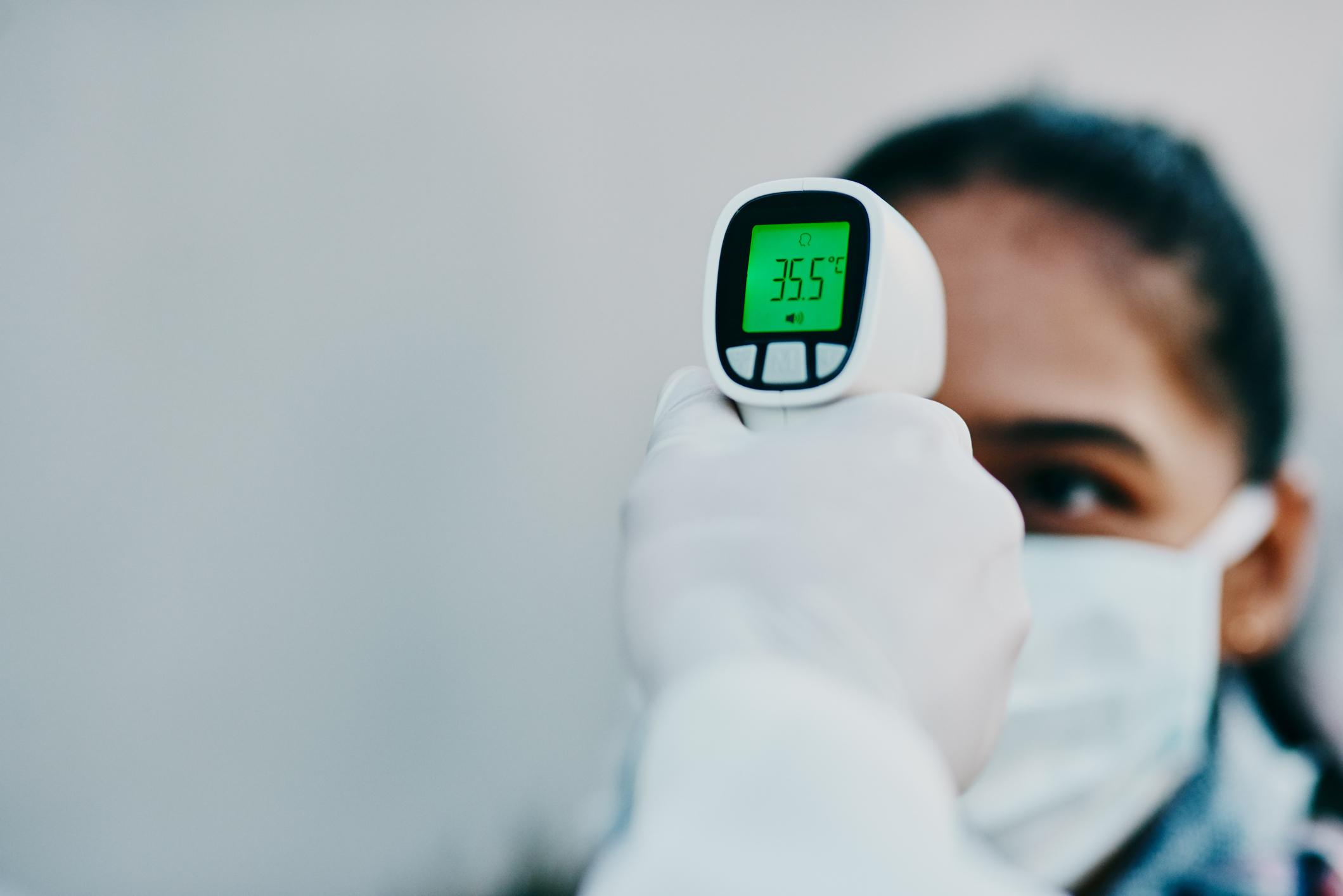 Coronavirus FAQs: Temperature Screenings, Swimming Pool Risks, Mosquitoes ...? : Goats and Soda : NPR