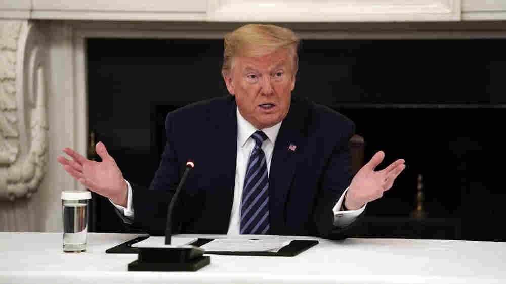 Supreme Court Hears Cases Involving Trump's Taxes, Financial Records