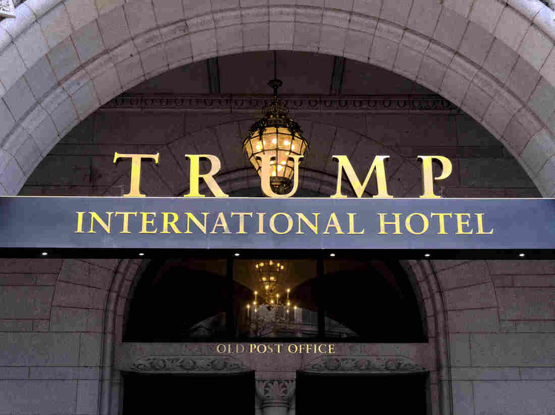 President Trump's downtown Washington hotel, which occupies a building leased from the federal government, has been at the epicenter of the ethics disputes around the president.