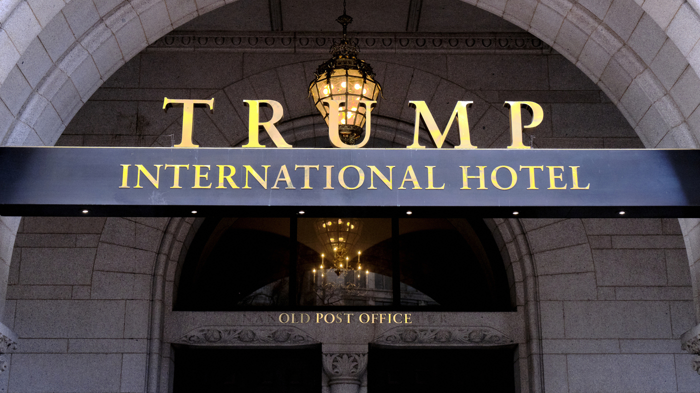 Court Allows Emoluments Case Against Trump Over D.C. Hotel To Proceed – NPR