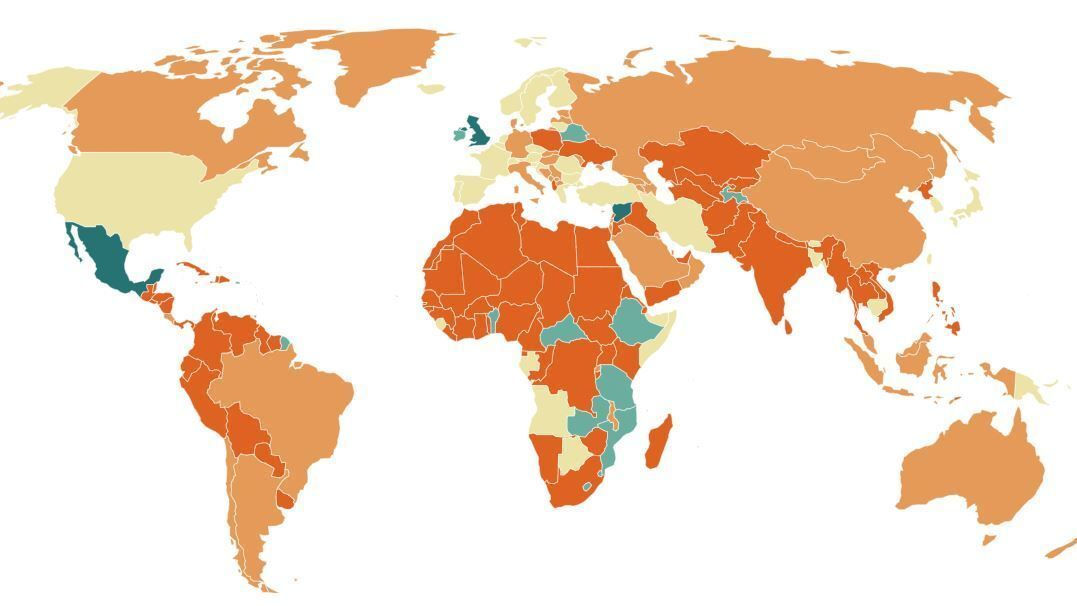 MAP: See Which Countries Are Closing Borders Due To Coronavirus : Goats and  Soda : NPR