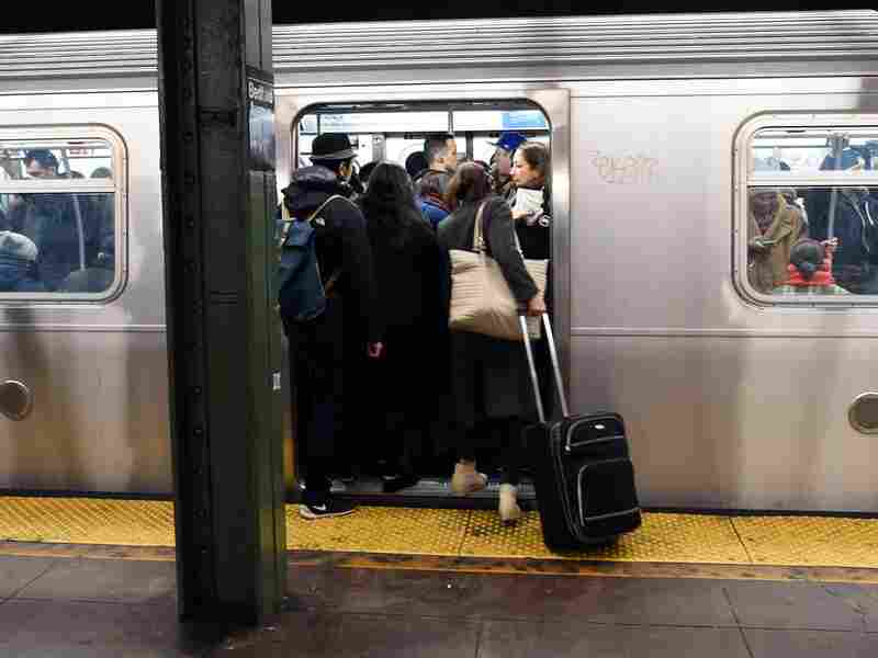 Subways can get crowded.