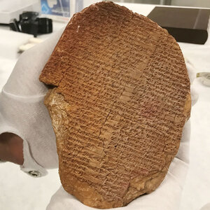 U.S. Authorities Say Hobby Lobby's                  Gilgamesh Tablet Is 'Stolen,' Must Go Back To Iraq
