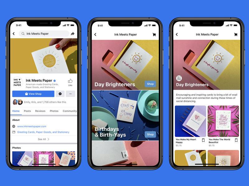 Facebook lança shopping virtual, dizendo que ajudará pequenas empresas