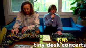 Sylvan Esso: Tiny Desk (Home) Concert
