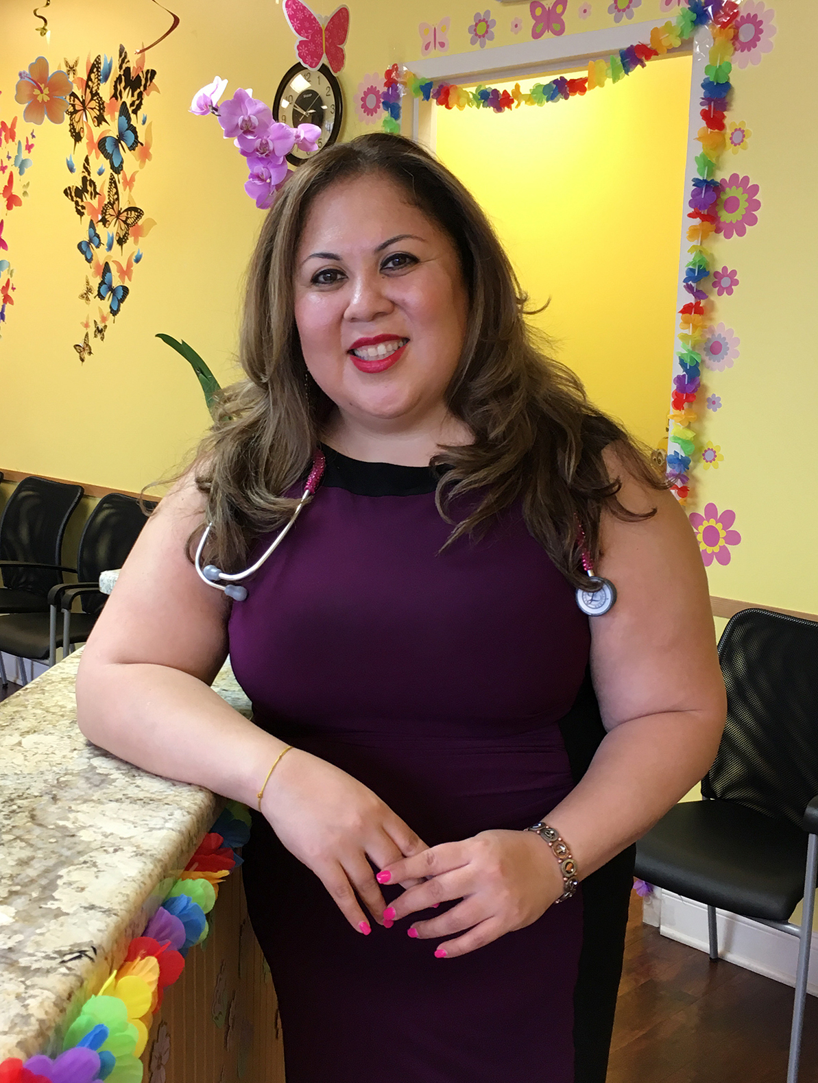 Immunologist Juanita Mora has been arranging antibody testing in Chicago for people who need the test to go back to work. A positive test doesn't guarantee immunity from coronavirus reinfection, she tells her patients. So social distancing and other precautions are still important. (Juanita Mora)