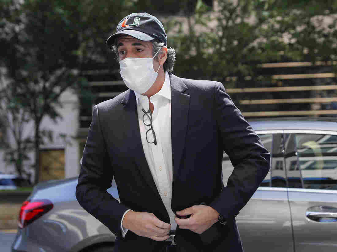Jailed Trump lawyer Michael Cohen released due to coronavirus pandemic