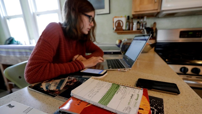 High School Students Are Taking High-Stakes Exams From Their Bedrooms