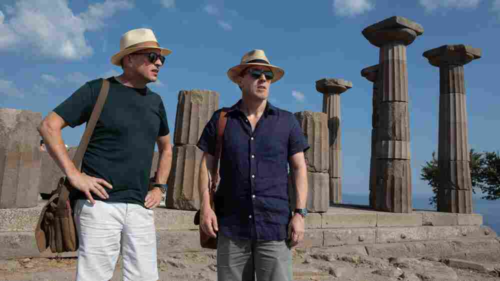 With 'Trip To Greece,' Coogan And Brydon's Odyssey Reaches A Poignant End