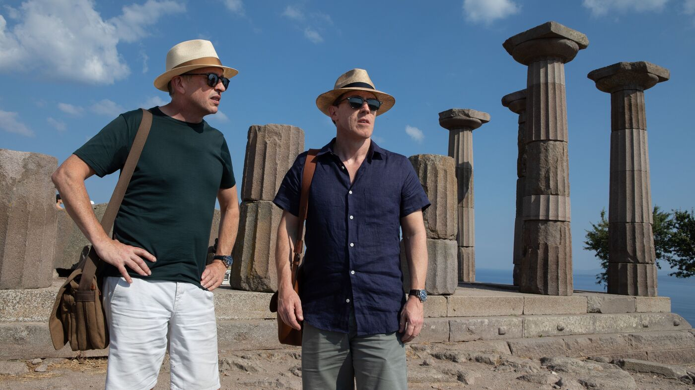 With 'Trip To Greece,' Coogan And Brydon's Odyssey Reaches A Poignant End - NPR