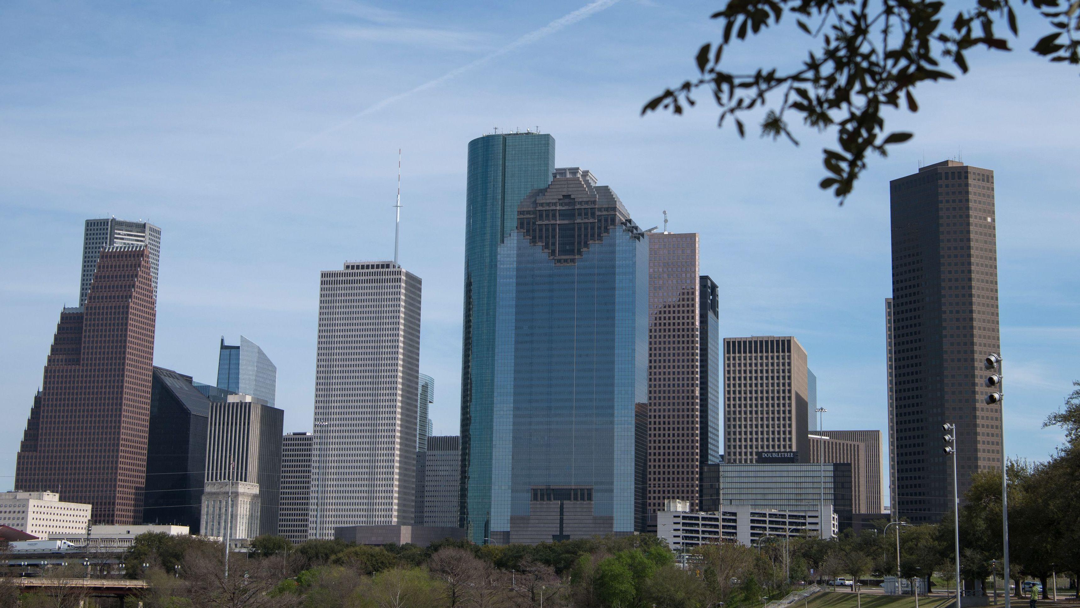 Downtown Houston, Texas in 2019.