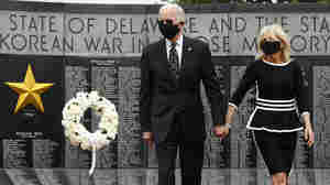 Biden Commemorates Memorial Day In First Outing Amid Coronavirus Pandemic