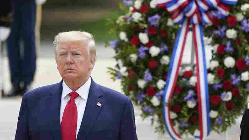 Trump Praises Fallen Soldiers In Memorial Day Ceremonies