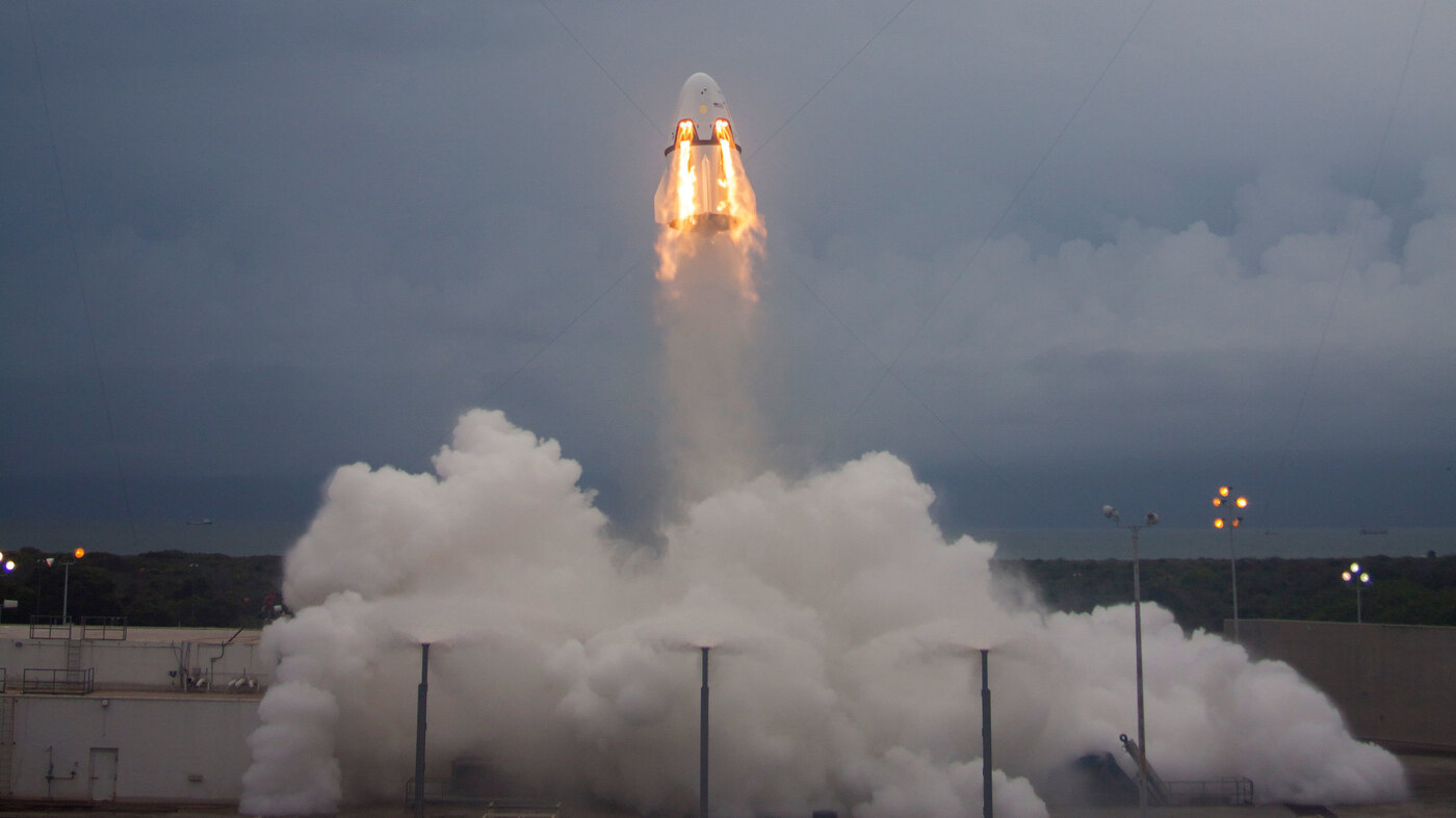 NASA And SpaceX Prepare To Launch Astronauts On New Spaceship