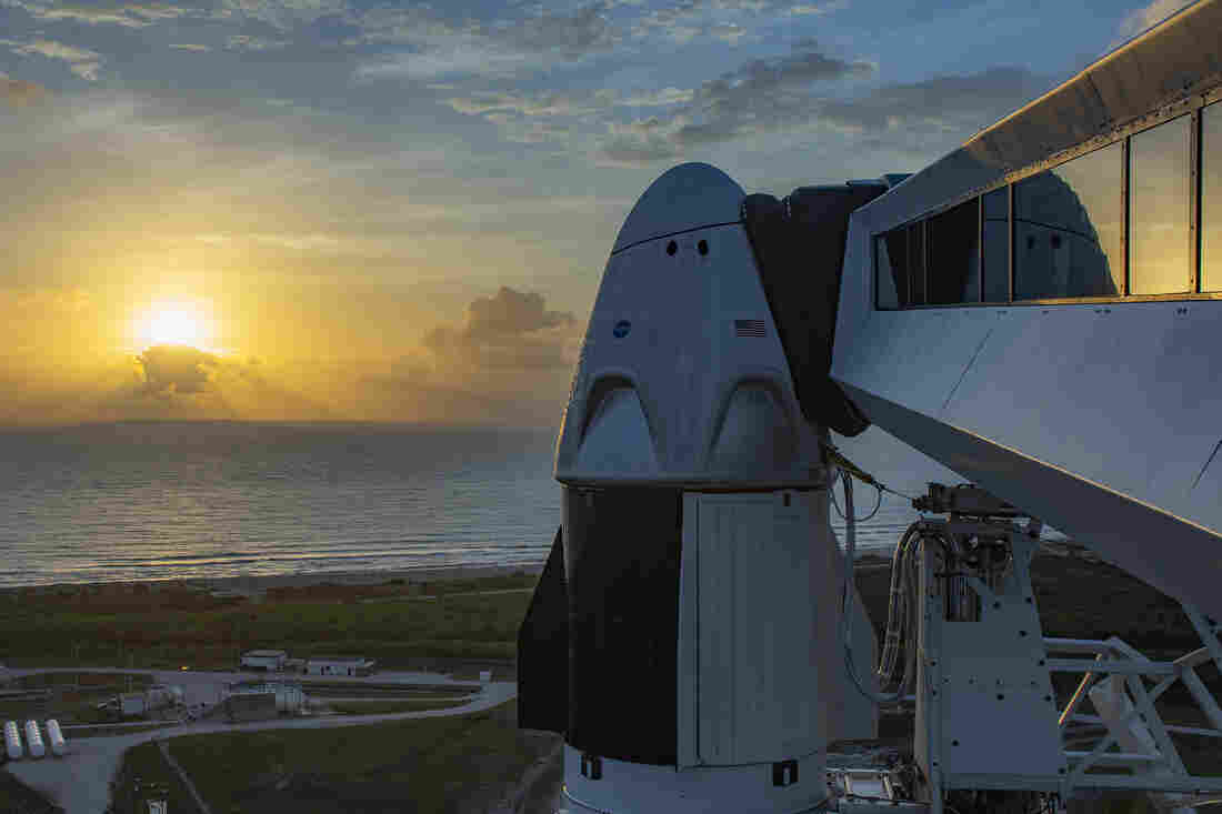 Watch Elon Musk's SpaceX send astronauts into space