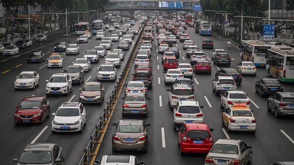 The city of Wuhan, where the coronavirus first began to spread, is pictured on May 14. Many Chinese cities have seen rush hour traffic return to pre-pandemic levels — or worse — after reopening, according to traffic data company TomTom. Cities around the world are trying to figure out how to avoid disastrous gridlock as residents resume travel while avoiding public transit.