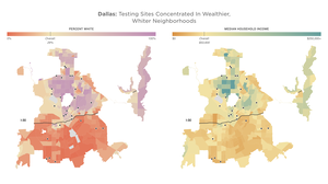 In Large Texas Cities, Access To Coronavirus Testing May Depend On Where You Live