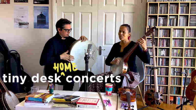 Rhiannon Giddens And Francesco Turrisi: Tiny Desk (Home) Concert