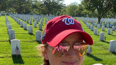 She Honored 60 Veterans Whose Families Couldn't Visit Arlington National Cemetery