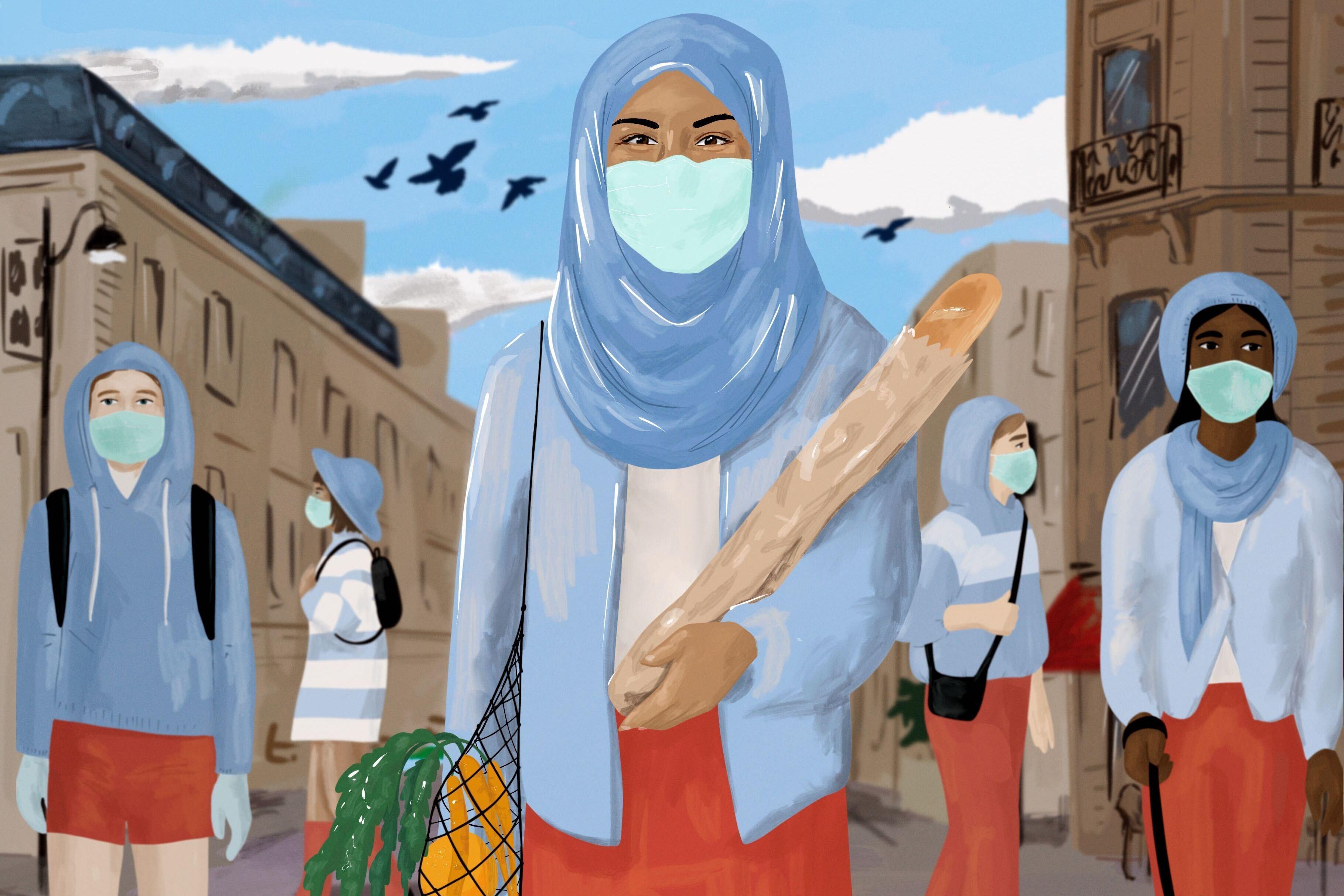 France Bans Niqab Hijab For Muslims But Mandates Face Masks Rough Translation Npr
