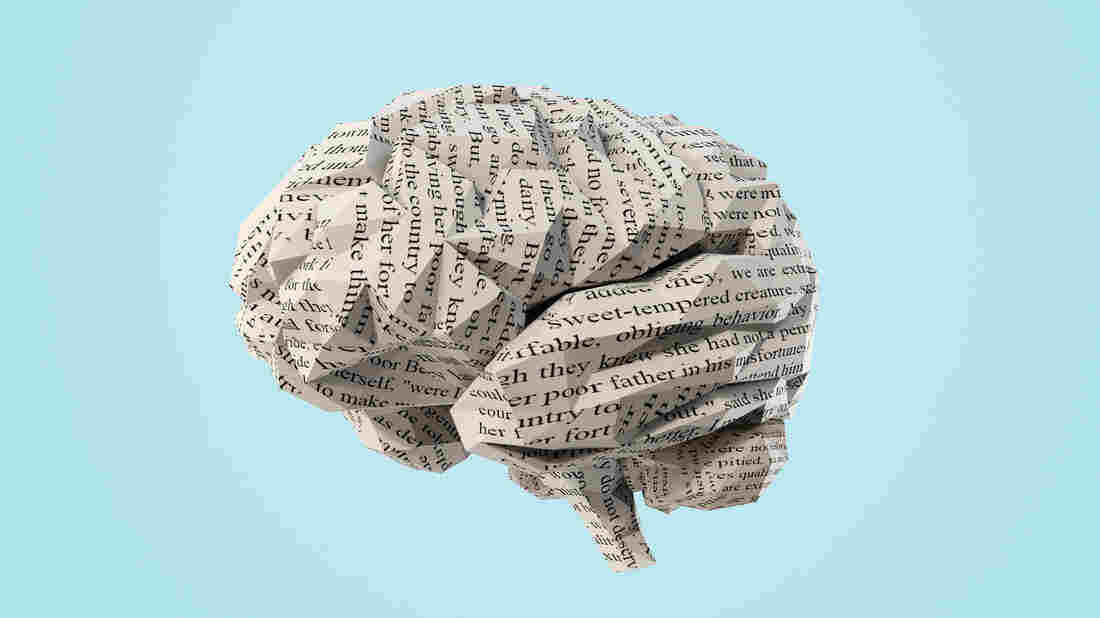 Image of crumpled paper that looks like a brain