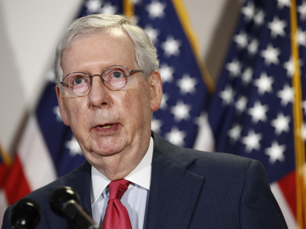 Senate Majority Leader Mitch McConnell says he does not supporting extending additional unemployment benefits that run out at the end of July.