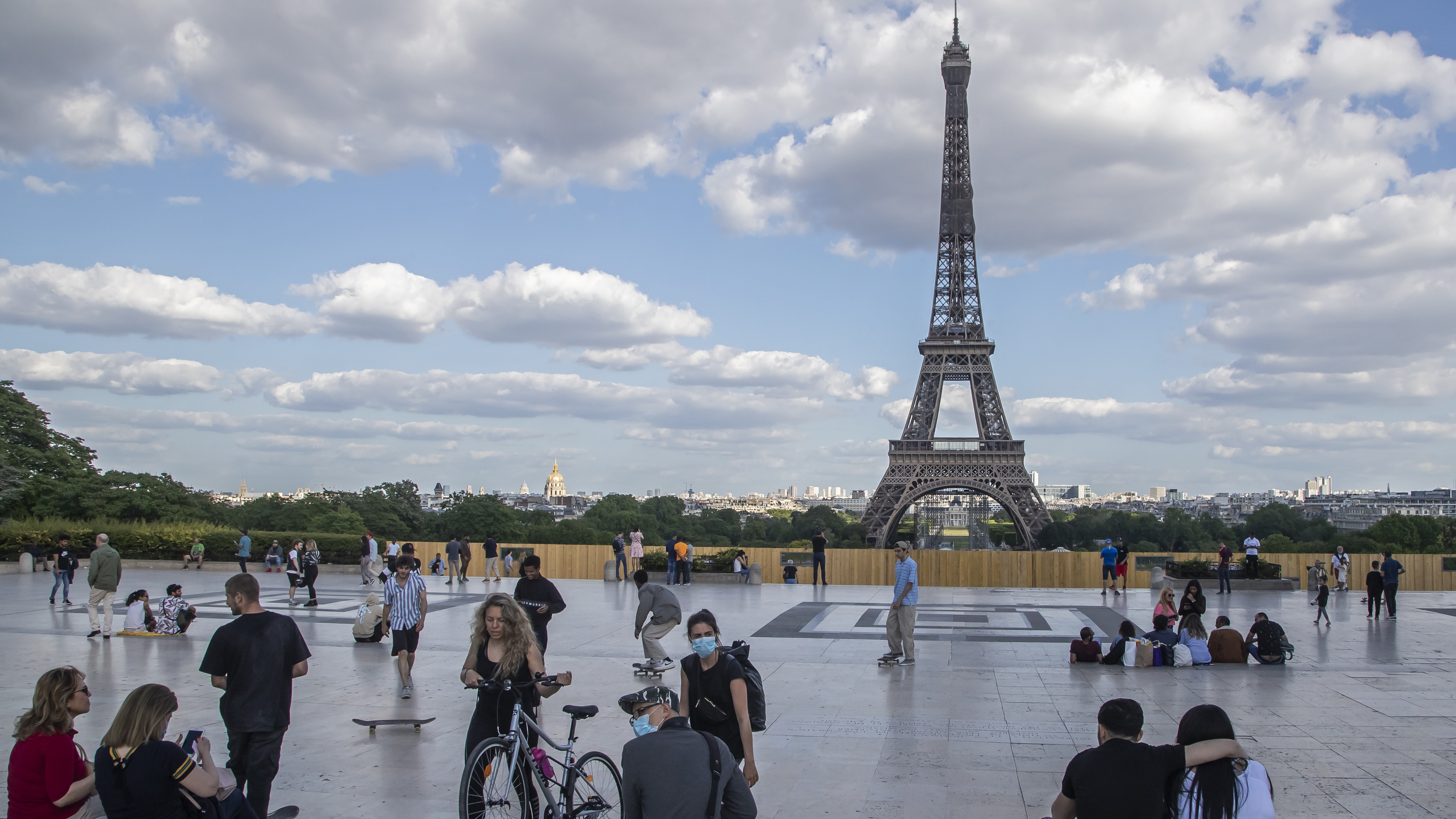 France Eases Some Pandemic Restrictions And Will Reopen Restaurants Bars And Parks Coronavirus Updates Npr