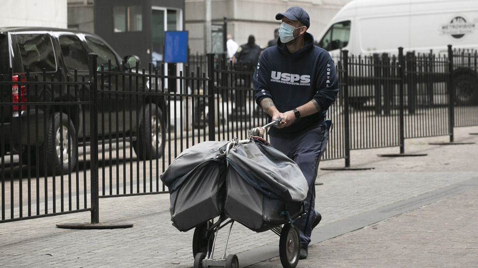 The U.S. Postal Service faces challenges as more voters turn to mail in ballots during the coronavirus pandemic. (Mark Lennihan/AP)