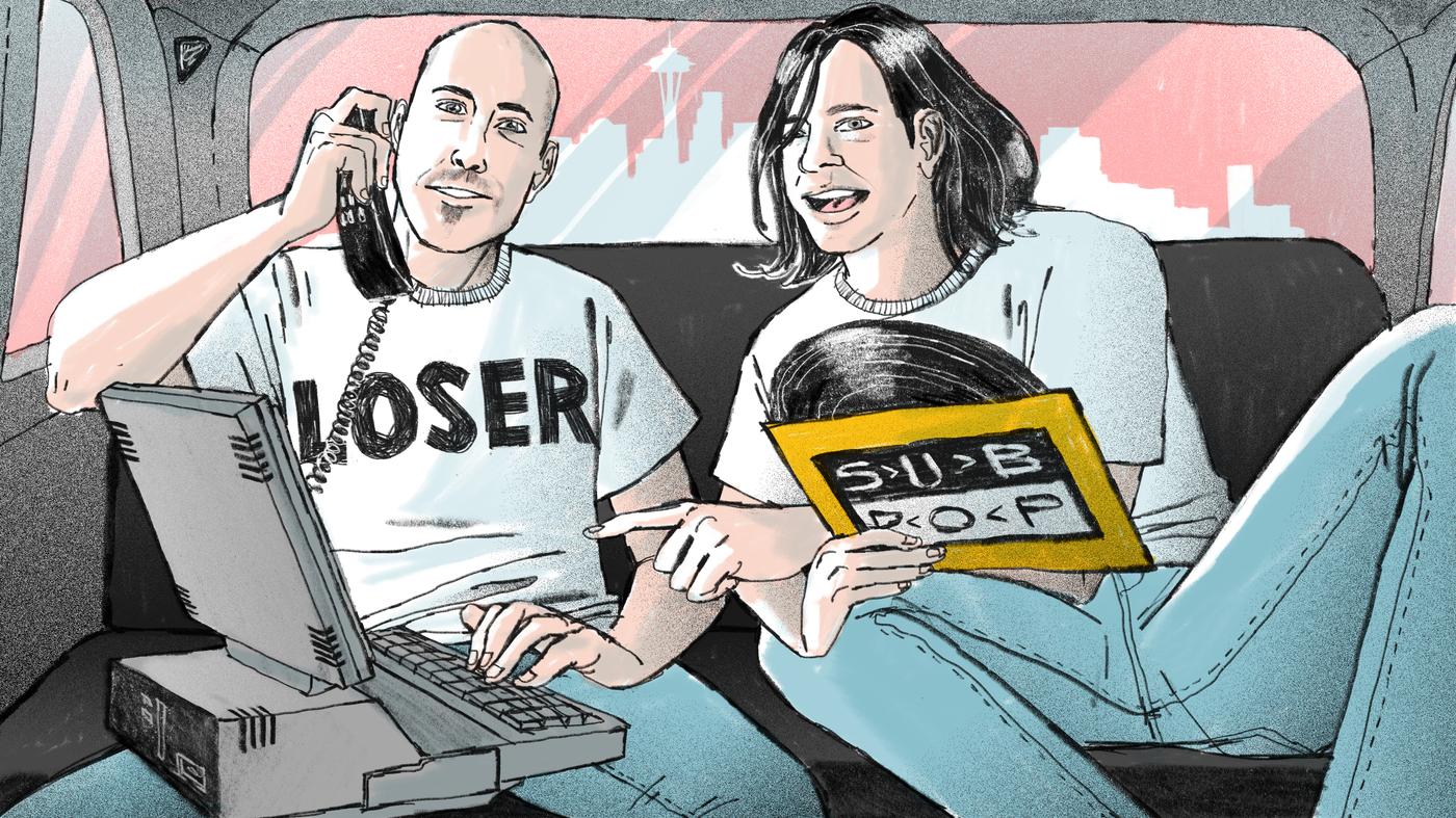 Sub Pop Records: Bruce Pavitt and Jonathan Poneman