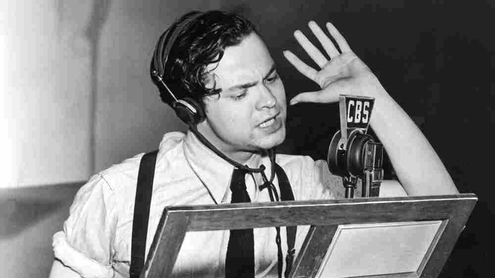 Theaters Return To An Old Art Form — The Radio Drama — With A Twist