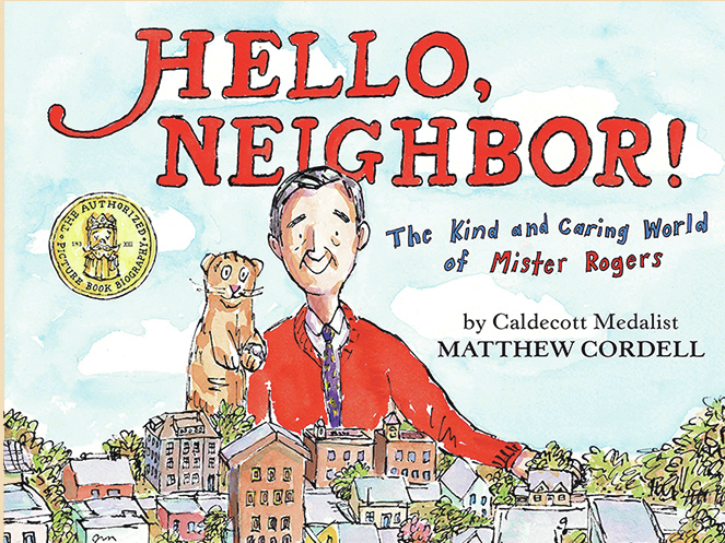 Say Hello Neighbor To This Charming Picture Book About Mister Rogers Npr