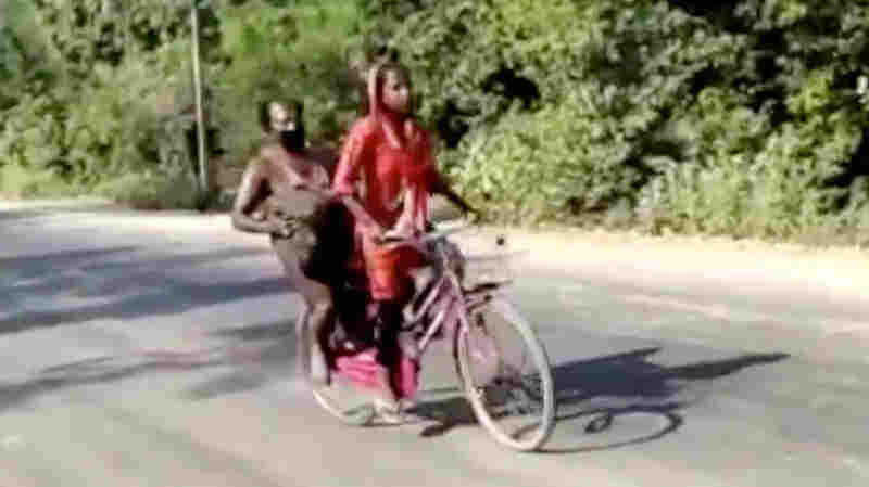 Indian Teen Bikes 700 Miles With Injured Dad, Is Hailed As Hero — And Sparks Debate