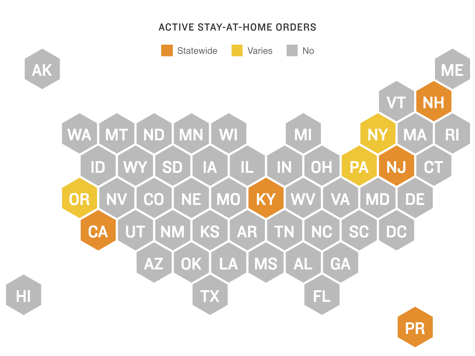 A List Of Covid 19 Restrictions In Every State Npr