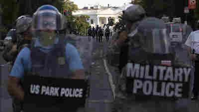 Don't Send U.S. Military To Protests, Hill Democrats Warn Trump