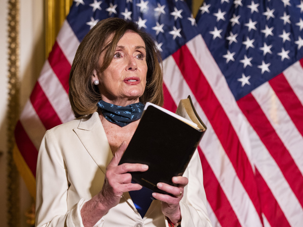 House Speaker Nancy Pelosi has asked the Congressional Black Caucus to help select legislative proposals to address policing that can pass the House with enough votes without GOP support.