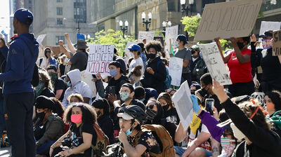 Could Massive Protests Lead To A Resurgence Of COVID-19 Cases In Chicago?