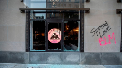 Damaged D.C. Shops Assess Dynamic 'Between A Broken Window And A Lost Life'